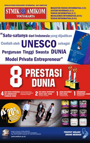 STMIK Amikom Yogyakarta Tempat kuliah orang berdasi