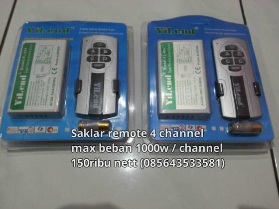 saklar listrik remote
