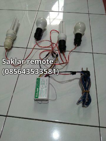 pemasangan saklar listrik remote